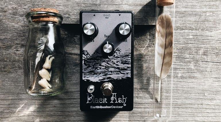 EarthQuaker Devices Black Ash Endangered Fuzz