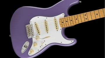 Fender relaunches Jimi Hendrix Stratocaster (a slight return)