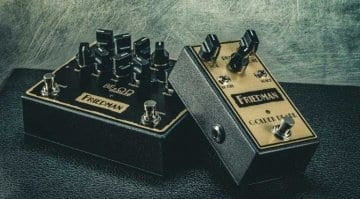 Friedman BE-OD Deluxe and Golden Pearl overdrive pedals