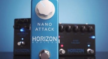 Horizon Devices Nano Attack pedal by Misha Mansoor