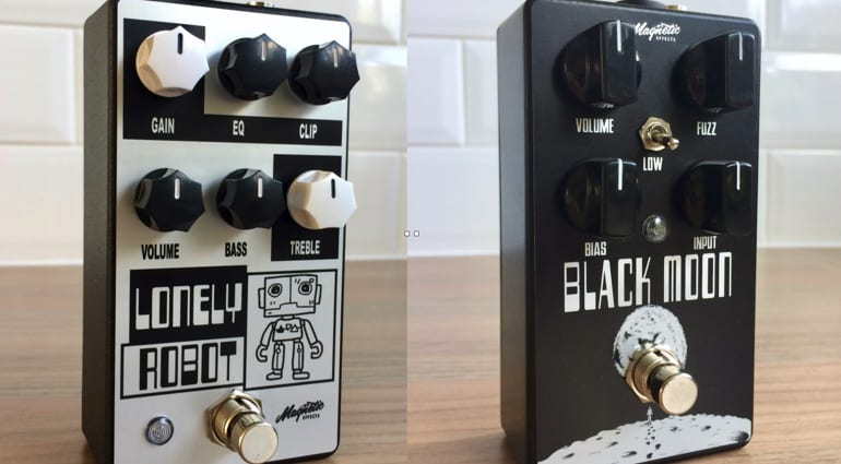 Magnetic Effects Lonely Robot and Black Moon limited editions