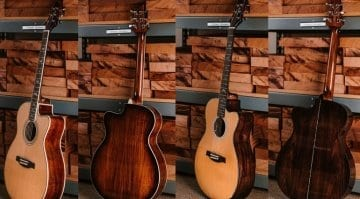 PRS SE Acoustic Koa and Pau Ferro limited European run