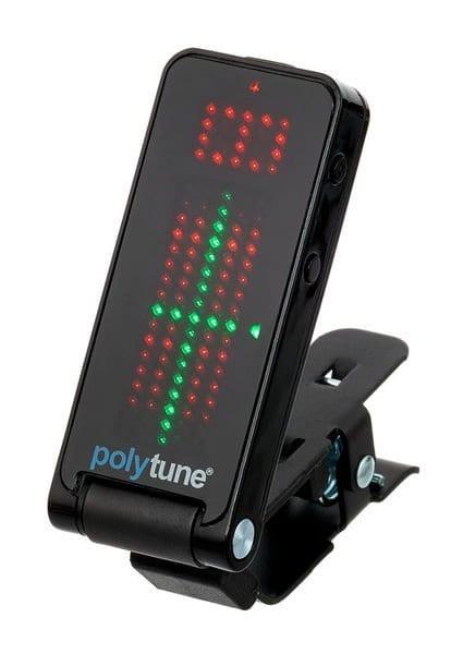 TC PolyTune Clip-On Tuner black