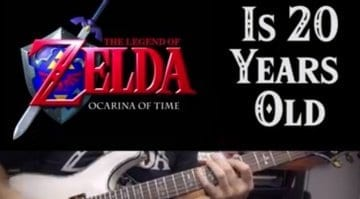 The Legend of Zelda- Ocarina of Time Guitar Medley | 20th ANNIVERSARY SPECIAL