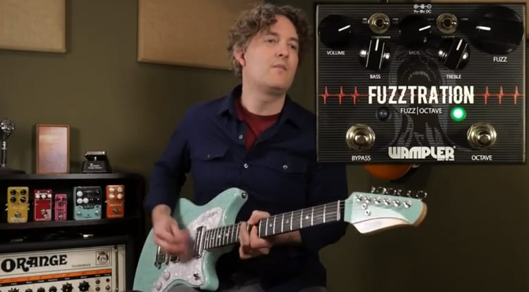 Wampler Fuzztration - Fuzz, Octave and more
