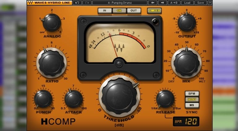 free waves h-comp plugin cyber monday