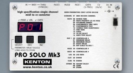 Kenton Pro Solo Mk3