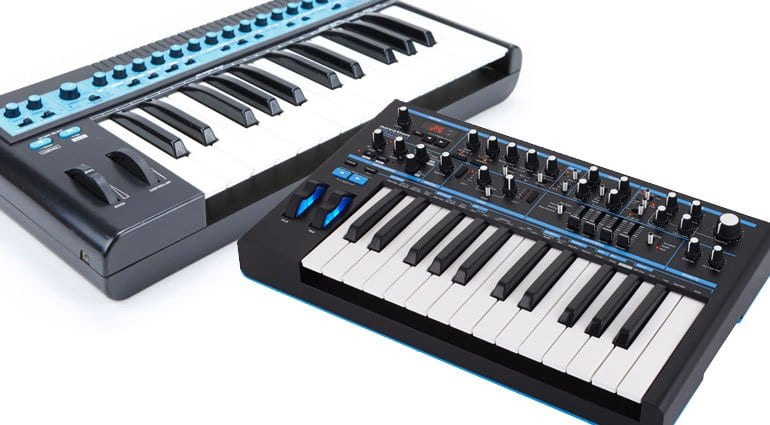 Novation Bass Station 1 and 2