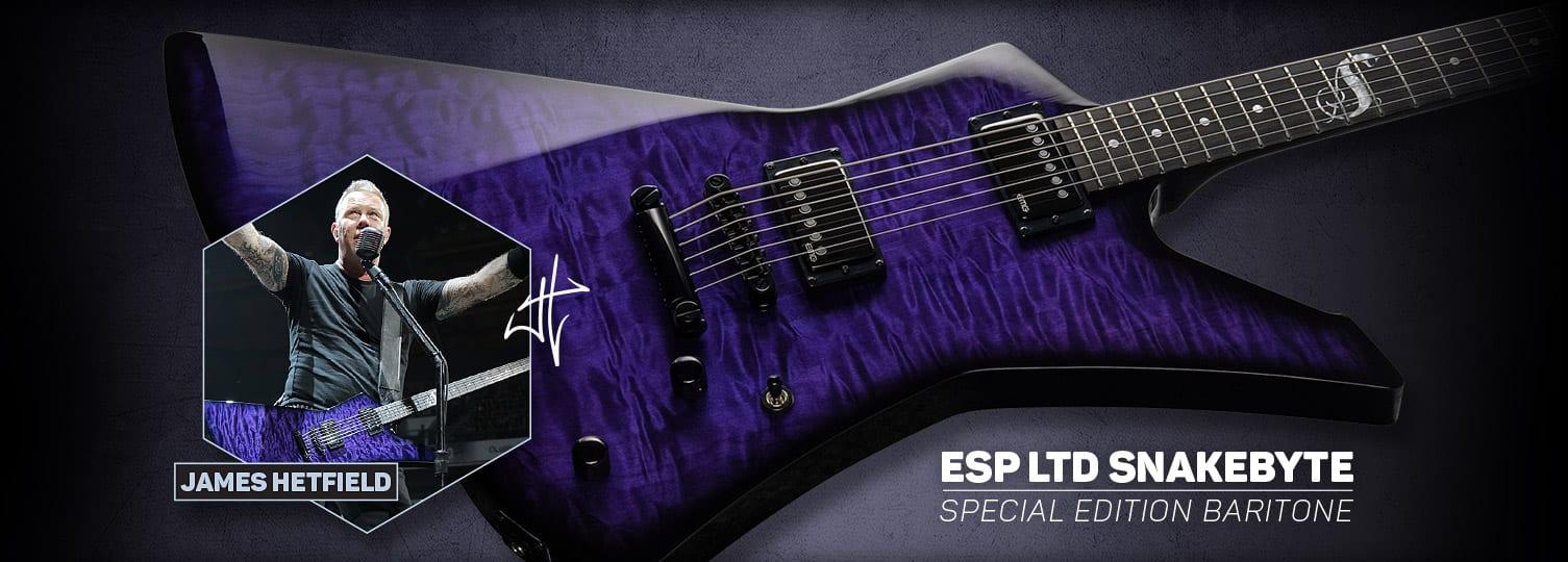 ESP LTD Signature LTD Snakebyte SE Baritone