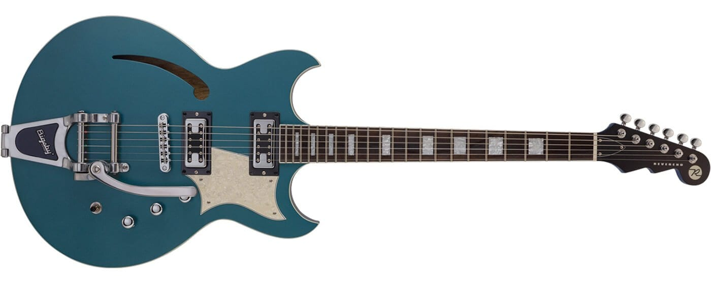 Reverend Guitars Tricky Gomez in Deep Sea Blue