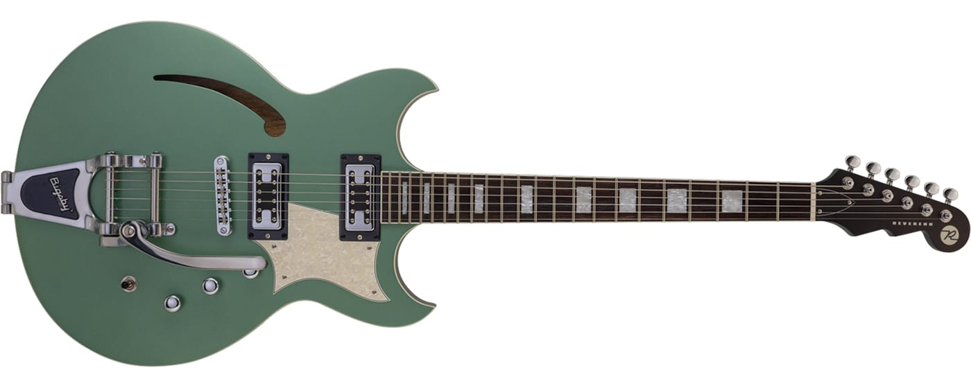 Reverend Guitars Tricky Gomez in