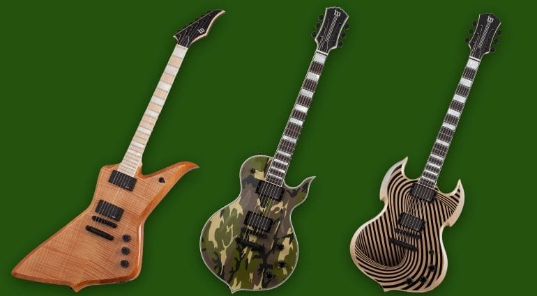 Wylde Audio Limited Editions Blood Eagle Raw Top, Odin Grail Camo and Barbarian Psyclone