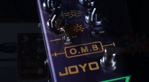 Joyo O.M.B Looper and Drum Pattern pedal