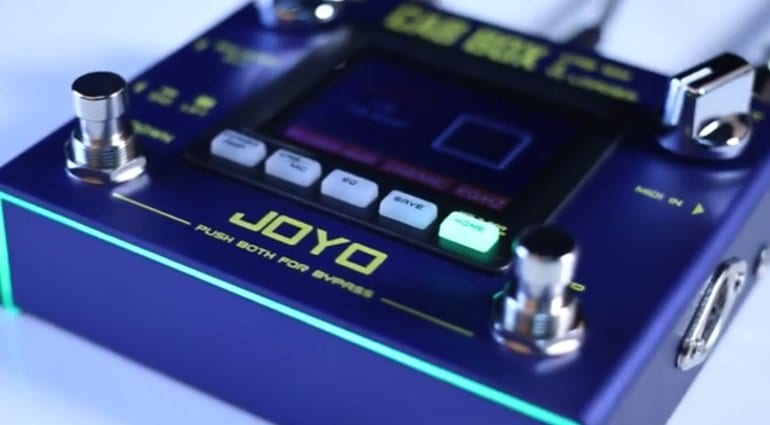 Joyo R-08 cab Box IR Loader pedal