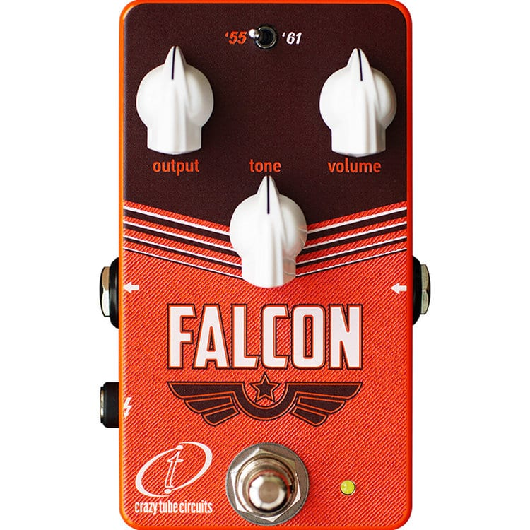 Crazy Tube Circuits Falcon Overdrive: Tweed inspired vintage