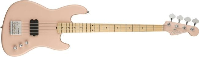 Fender Flea Active Jass Bass Satin Shell Pink