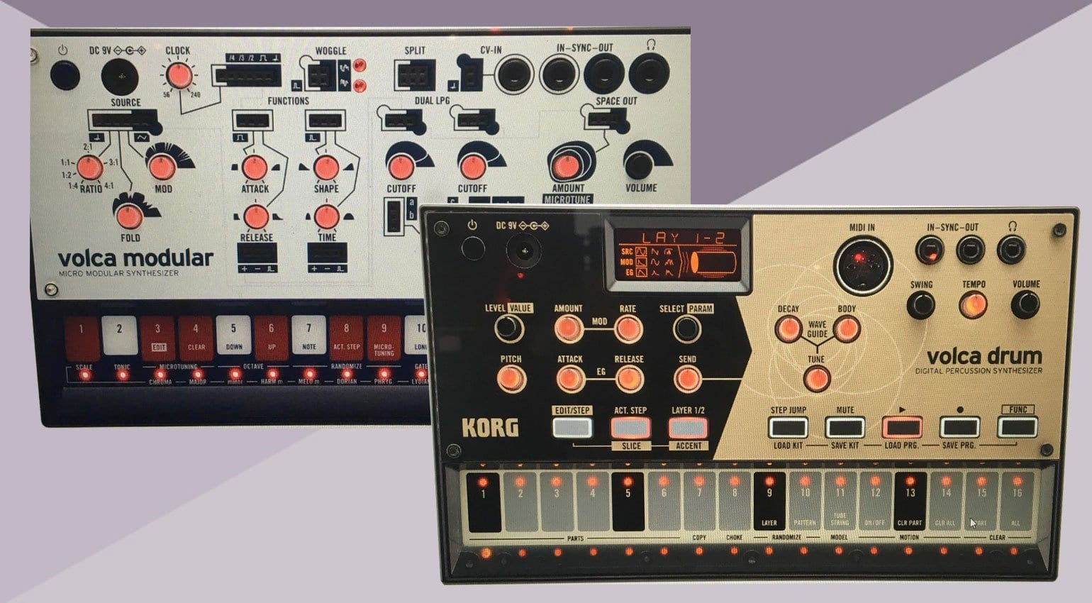 new korg volcas micro modular and digital percussion synthesizer. Black Bedroom Furniture Sets. Home Design Ideas