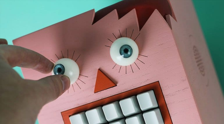 Terrify small children with Mr Typo wall mounted speech synthesizer
