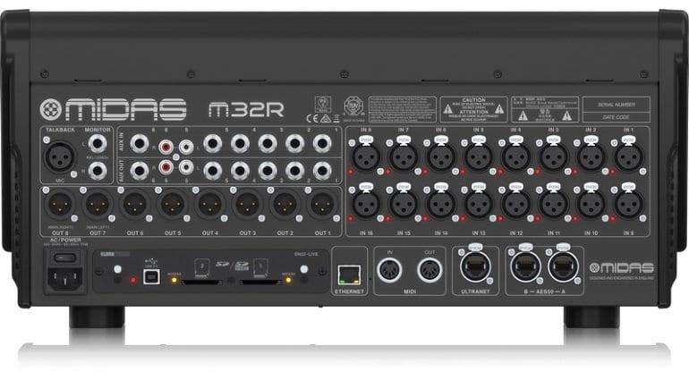 Midas M32R Live - Back