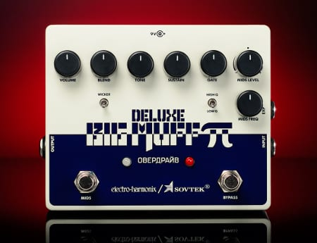 sovtek-deluxe-big-muff Electro Harmonix, Sovtek Deluxe Big Muff - The Civil War Muff!