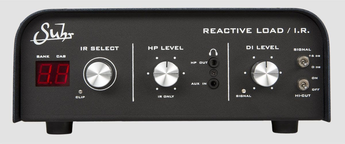 Suhr Reactive Load IR front panel