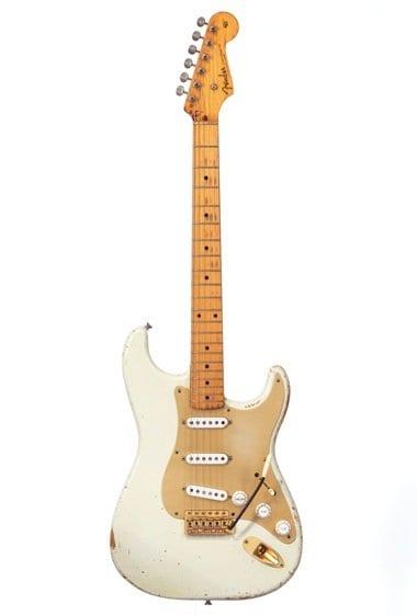 Gilmour's 1954 White Fender Stratocaster #0001