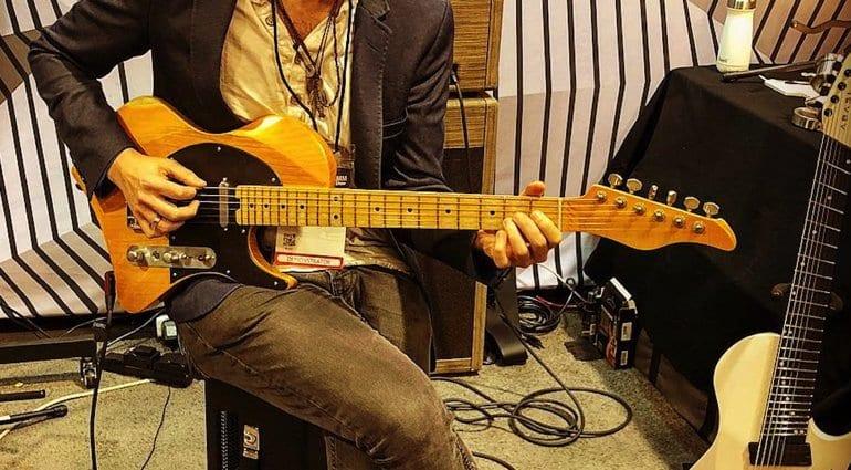 Abasi Guitars NAMM 2019 Larada Space Tele