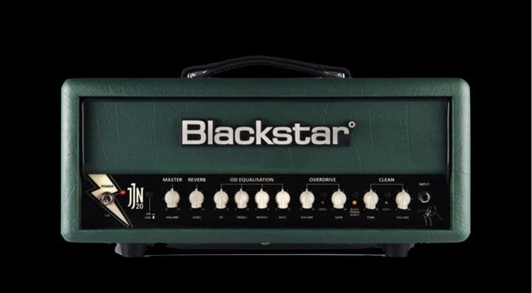 Blackstar JJN-20R Jared James Nichols signature model amp head NAMM 2019
