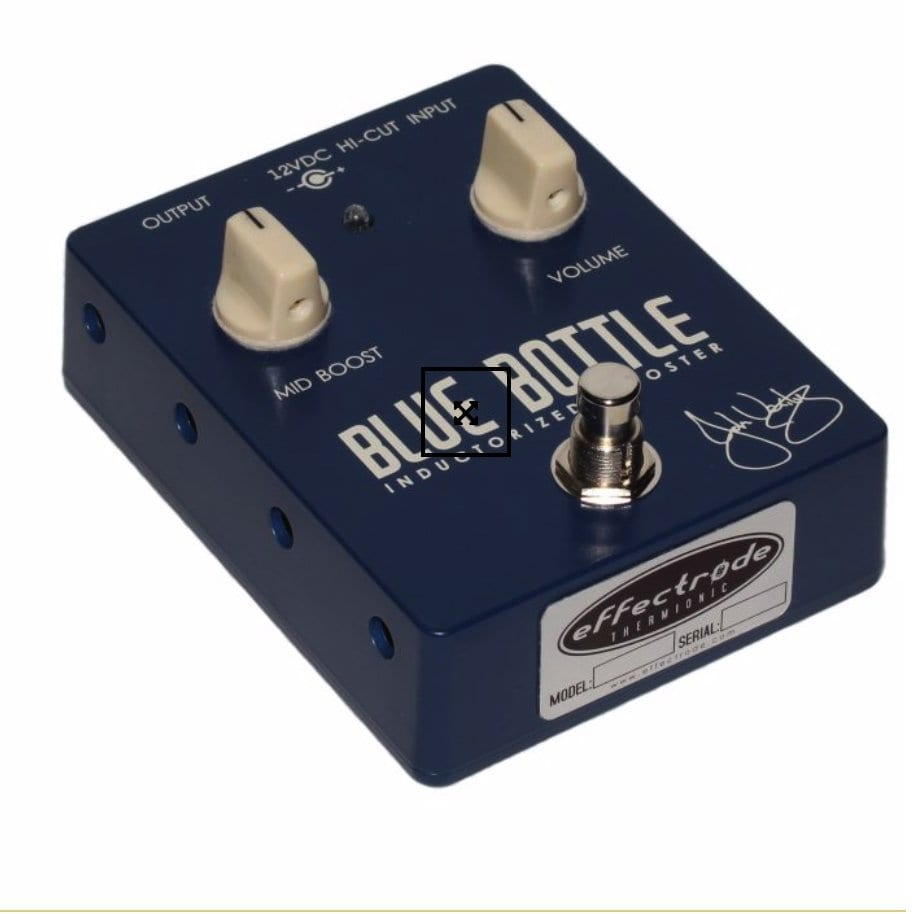Blue Bottle - Boutique valve based Mid Booster