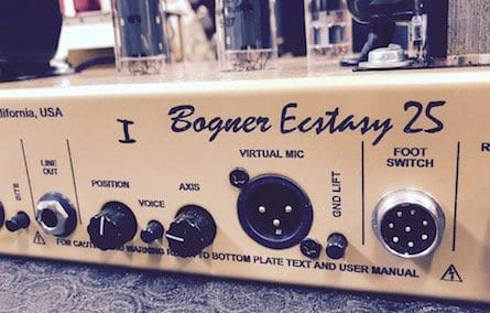 Bogner Ecstasy 25 Virtual Mic