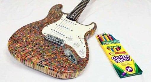 Burls Art Coloured Pencil Strat