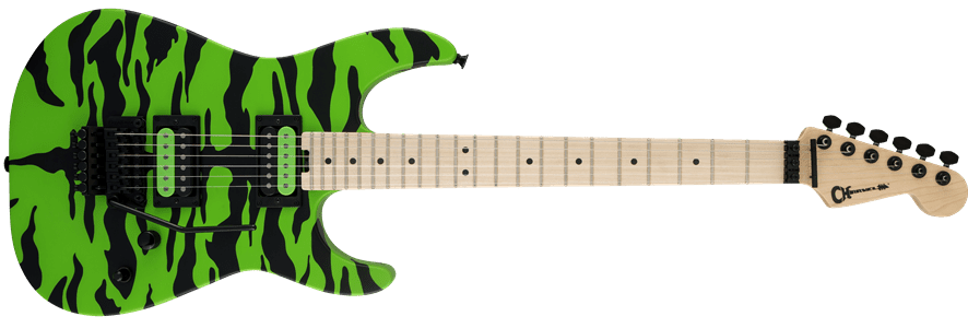 Charvel Satchel Signature now in Slime Green Bengal