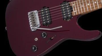 Charvel USA Select DK24 HH 2PT CM Oxblood
