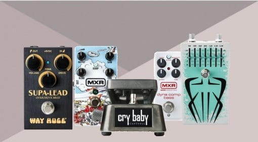 NAMM 2019 Dunlop MXR Dookie Drive, Jerry Cantrell wah, Siete Santos Octavio Fuzz, Way Huge Smalls Supa-Lead Overdrive and MXR Dyna Comp Bass Compressor