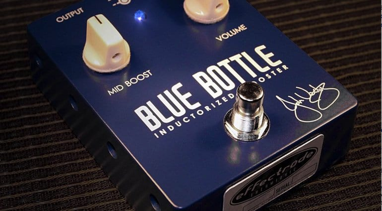Effectrode JV-1A 'Blue Bottle' Inductorized Tube Booster