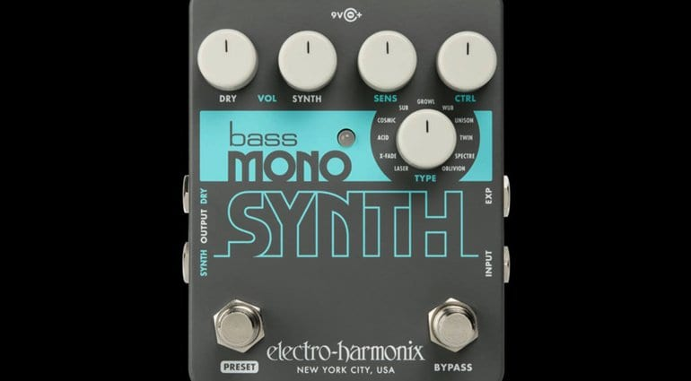 namm 2019 electro harmonix bass mono synth pedal gives bassists new synth sounds. Black Bedroom Furniture Sets. Home Design Ideas
