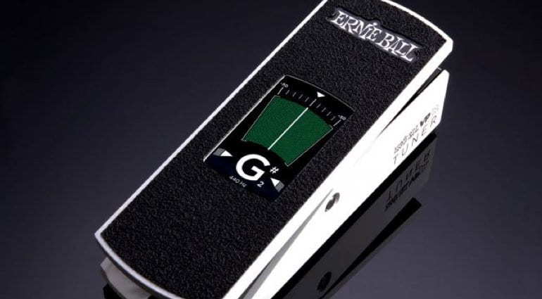 Ernie Ball unveils VPJR touch-screen tuner and volume pedal