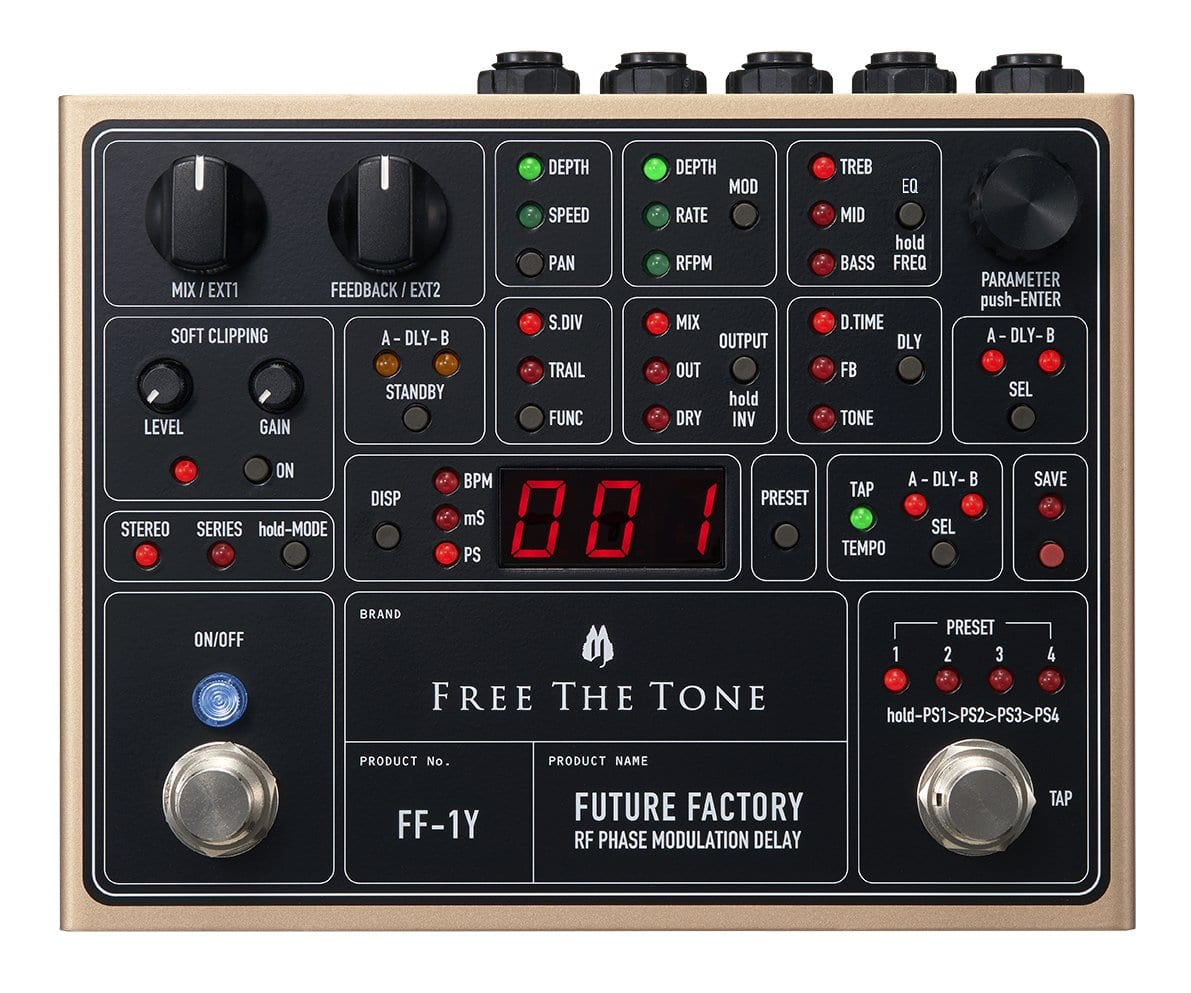 Free The Tone FF-1Y RF Phase Modulation Delay Future Factory
