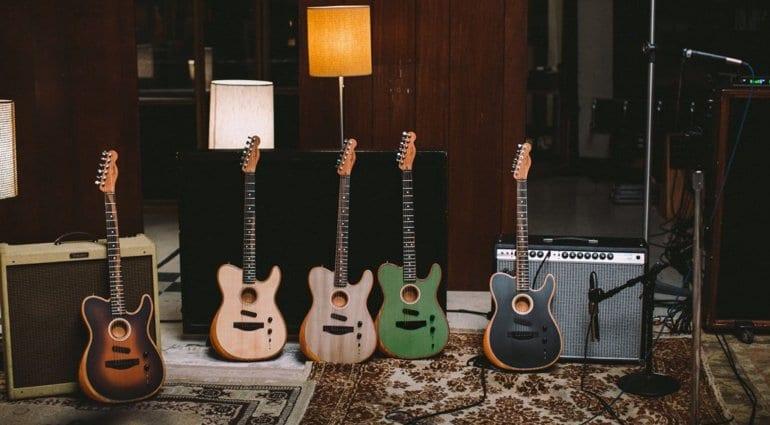 Fender American Acoustasonic Series Telecaster range 2019