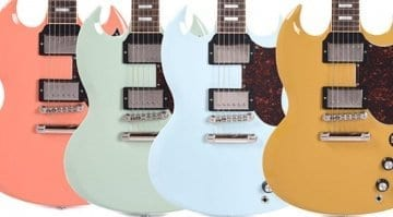 Gibson exclusive CME SG Standards in unique Custom Shop finishes!