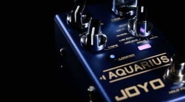 Joyo R-07 Aquarius delay and looper pedal
