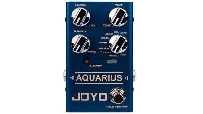 Joyo R-07 Aquarius delay/looper pedal
