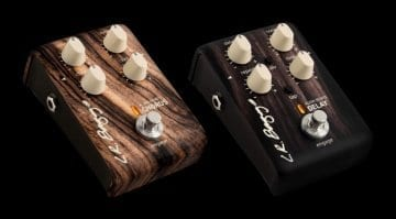 LR Baggs Align Series Chorus and Delay pedals
