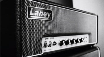 Laney Supergroup LA100SM 100-watt Master Volume head