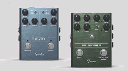 More leaked Fender pedals - Pinwheel Rotary Speaker Emulator & Tre-Verb Tremolo:Reverb