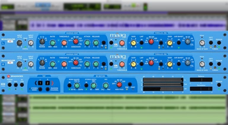 MAAG Audio compressor