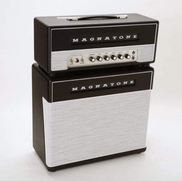 Magnatone Super 15 head and matching cab