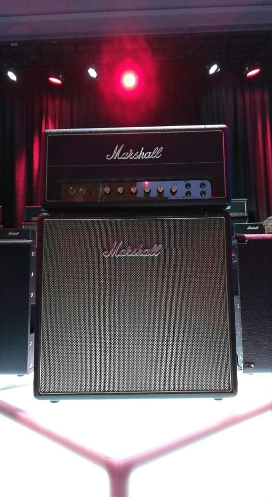 Marshall Studio Stack at NAMM