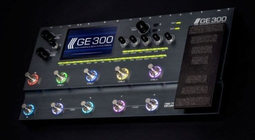 Mooer GE300 prototype at show
