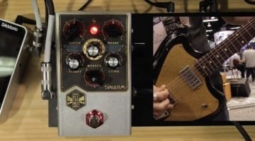NAMM 2019 Beetronics Swarm Fuzz Harmonizer pedal
